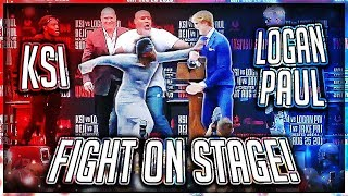 Download KSI PUNCHED LOGAN PAUL AT PRESS CONFERENCE (Highlights) Video