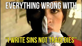 Download Everything Wrong With Panic! At The Disco - ″I Write Sins Not Tragedies″ Video