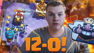Download 12-0 EASY! Best Lavaloon Deck LIVE Grand Challenge Gameplay - Clash Royale Video