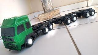 Download Caminhão de brinquedo como fazer um caminhão prancha ou caminhão plataforma com o seu bitrem Video