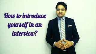 Download How to introduce yourself in a job interview Video