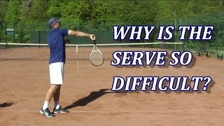 Download Why Is The Serve In Tennis So Difficult? One Main Reason... Video