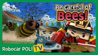 Download Be careful of Bees! | Robocar Poli Clips Video