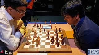 Download Oh My God! Look at the clock! Anand vs Harikrishna | Tata Steel Chess India Blitz 2018 Video