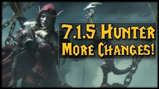 Download More 7.1.5 Hunter Changes! No More Sidewinders?! Video