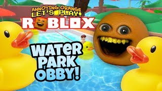 Download Roblox: Water Park Obby! [Annoying Orange Plays] Video