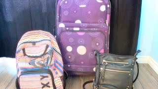 Download Packing A Checked Bag & Carry On Like a PRO Video