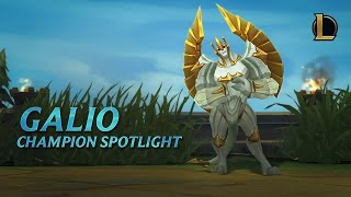 Download Galio Champion Spotlight | Gameplay - League of Legends Video