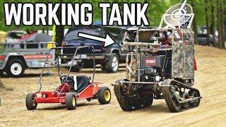 Download Go Kart TANK + Epic Riding   Mini Mayhem Spring 2019 Video