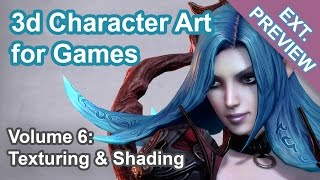 Download Texturing & Shading - 3d Character Art for Games (40 min.) Video