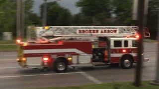 Download *RARE* Broken Arrow Fire Department Ladder 2 Responding To A Structure Fire!!!!! Video