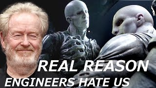 Download Ridley Scott Tells the REAL REASON Why Engineers Want to Kill Humans and Destroy Earth Video