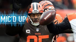 Download Myles Garrett Mic'd Up vs. Bengals ″It really is nothing, but it's Baker″ | NFL Films Video