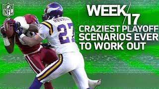 Download The Craziest Week 17 Playoff Clinchers in NFL History | NFL Vault Stories Video