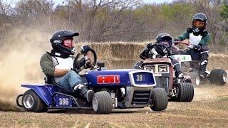 Download Lawnmower Racing Battle   Dude Perfect Video