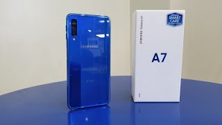 Download Samsung Galaxy A7 2018 ″ BLUE″ UNBOXING - A Premium Triple Camera Midranger! Video