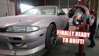 Download Welding The Diff On The S14! Video