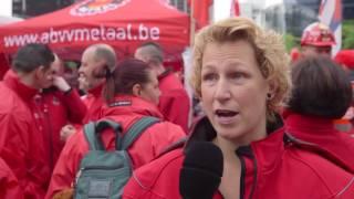 Download ABVV-Metaal sfeerverslag betoging 24 mei 2016 in Brussel Video