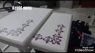 Download sehpaya stencil uygulamainstagram ozgulle hayalet tasarla boya Video