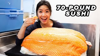 Download I Made The World's Largest Sushi Video