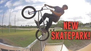 Download RIDING A BRAND NEW SKATEPARK! Video