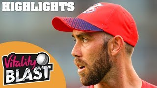 Download Lancashire Lightning v Notts Outlaws | Maxwell Stars In Thriller! | Vitality Blast 2019 - Highlights Video