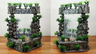 Download How to make very nice amazing fountain waterfall show piece Video