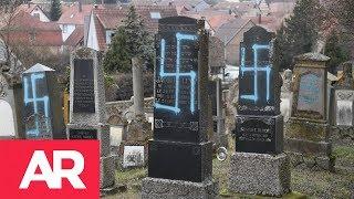 Download 80 tumbas profanadas en un cementerio judío en Francia Video