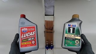 Download DO NOT USE this engine oil!!! Mobil 1 & Lucas oil. Video
