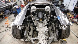 Download Mounting Twin Turbos on the Huracan in the Most INSANE Way! Video