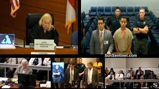Download Nikolas Cruz's brother, Zachary, appears in bond court on trespassing charge Video