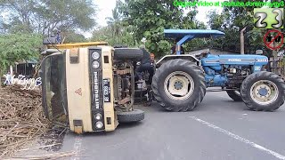Download Truck Accident Recovery By Ford Tractor Video