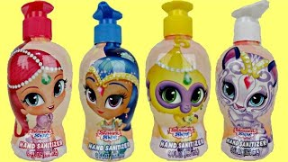 Download SHIMMER & SHINE Bath Squirter, Scrub & Sanitizer, Palace Friends Playset Video