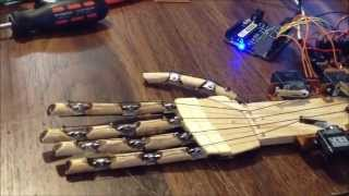 Download Arduino Robot Hand - for under $300 complete Video