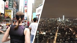 Download RUNNING IN TIME SQUARE + EMPIRE STATE BUILDING VIEWS! Video