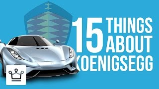 Download 15 Things You Didn't Know About KOENIGSEGG Video
