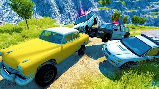 Download EXTREME OFF ROAD POLICE CHASES AND GETAWAYS - BeamNG Drive Crash Test Compilation Gameplay Video