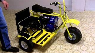 Download Mini Bike Baja Doodle Bug Side Car for the Do it Yourself Average Home Handyman Video