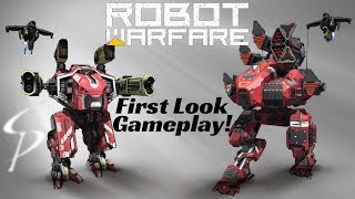 Download New Mech Game - Robot Warfare Online - First Look Game Play Video