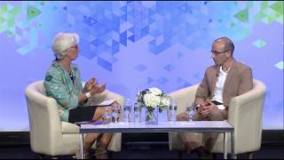 Download Yuval Noah Harari In Conversation with Christine Lagarde Video