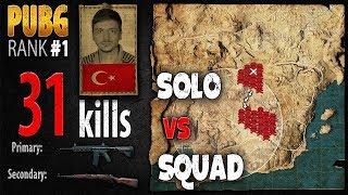 Download [Eng Sub] PUBG Rank 1 - ArmuttTV 31 kills [EU] Solo vs Squad TPP -PLAYERUNKNOWN'S BATTLEGROUNDS #240 Video