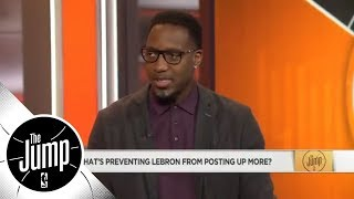 Download Tracy McGrady: 'I want 1 game where LeBron has 85% of his offense on the post' | The Jump | ESPN Video