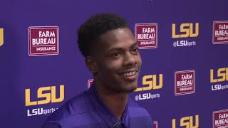 Download ″At the end of the day it's about the scoreboard and who wins.″ Greedy Williams Full Presser 9.24.18 Video