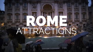 Download 10 Top Tourist Attractions in Rome - Travel Video Video