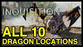 Download All 10 Dragon Locations - Dragon Age Inquisition (Dragon's Bane Achievement) Video