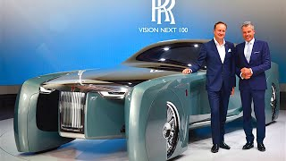 Download Rolls-Royce Vision World Premiere Review Rolls Royce Vision Self Driving Car CARJAM TV HD Video