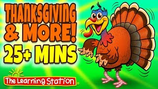 Download Thanksgiving Songs for Children - Thanksgiving Songs Playlist for Kids Video