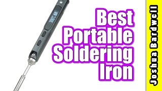 Download TS100 Portable Soldering Iron | THE BEST. HANDS DOWN. Video