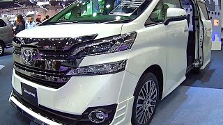 Download Toyota Vellfire 2017, 2016 Video review New Generation, Toyota Luxury VANs Video