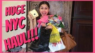 Download Huge NYC Haul + Big Announcement || Forever 21, H&M N More!!! Video